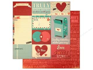 Bo Bunny Paper 12x12 Love Letters Journal (25 piece)