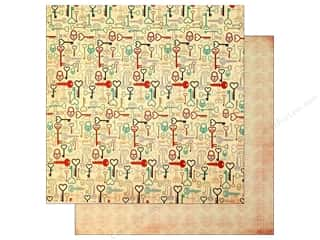 Bo Bunny Paper 12x12 Love Letters Keys (25 piece)