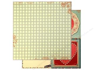 Bo Bunny Paper 12x12 Love Letters Tiles (25 piece)