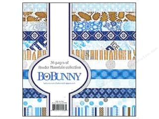 "Bo Bunny Paper Pad 6""x 6"" Powder Mountain"