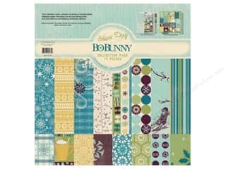 Bo Bunny Paper Collection Pack Snow Day