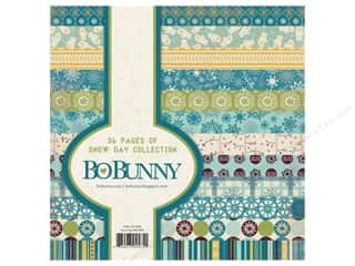 Bo Bunny Paper Pad 6x6 Snow Day
