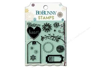 Bo Bunny Clear Stamps Snow Day