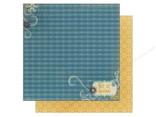 Bo Bunny Paper 12x12 Snow Day (25 piece)