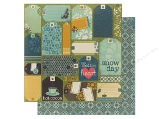 Bo Bunny Paper 12x12 Snow Day Cards (25 piece)