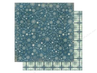 Bo Bunny Paper 12x12 Snow Day Flurries (25 piece)