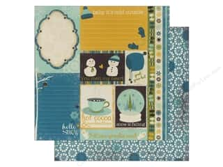 Bo Bunny Paper 12x12 Snow Day Journal (25 piece)