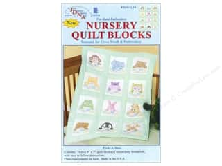 Jack Dempsey Nursery Quilt Block 12pc Peek A Boo