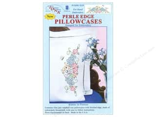 Jack Dempsey Pillowcase Perle Edge Kitten In Flower