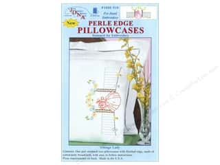Jack Dempsey Jack Dempsey Pillowcase Perle Edge White: Jack Dempsey Pillowcase Perle Edge White Vintage Lady