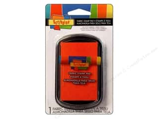 Scribbles Fabric Stamp Pad Orange
