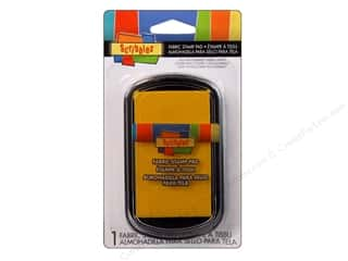 Scribbles Fabric Stamp Pad Yellow