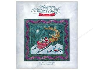 Pine Needles $13 - $33: Pine Needles Heaven & Nature Sing To All A Goodnight Pattern
