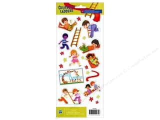 Stickers Toys: American Crafts Stickers Hasbro Chutes & Ladders
