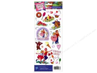 Toys Stickers: American Crafts Stickers Hasbro Candyland