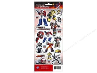 American Crafts Stkr Cdstk Hasbro Transformers