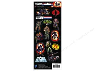 Stickers Toys: American Crafts Stickers Hasbro GI Joe