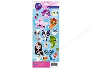 Pets Papers: American Crafts Stickers Hasbro Littlest Pet Shop