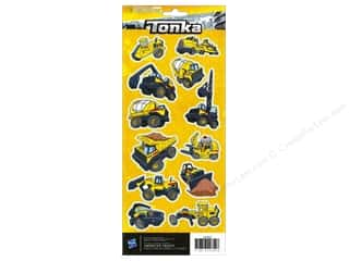 American Crafts Stkr Cdstk Hasbro Tonka Constn