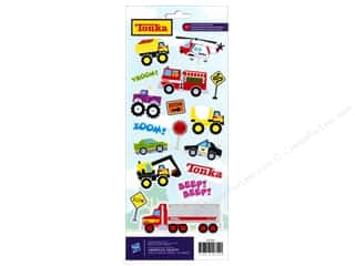 Toys: American Crafts Stickers Hasbro Tonka Kids