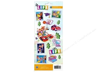 American Crafts Stickers: American Crafts Stickers Hasbro Game Of Life
