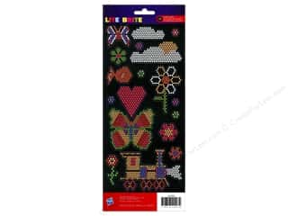 American Crafts Stickers: American Crafts Stickers Hasbro Lite Brite Icons