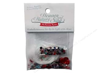 Rhinestones Projects & Kits: Pine Needles Embellishment Kit Heaven & Nature Sing Block #3
