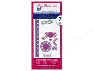 Spellbinders Shapeabilities Die Vintage Lace Accents
