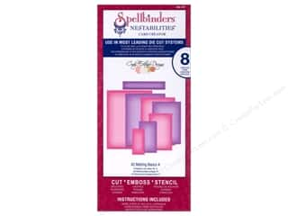 Spellbinders Nestabilities Die A-2 Matting Basics A