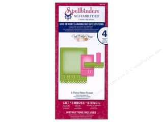 Spellbinders Nestabilities A-2 Fancy Ribbon Threader