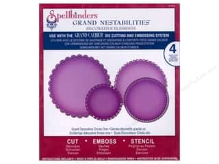 Spellbinders Nestabilities Grand Decorative Circles One
