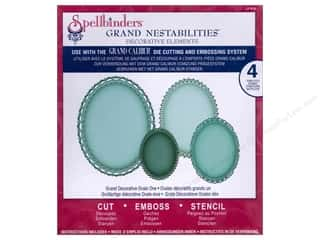 Spellbinders Nestabilities Grand Decorative Ovals One