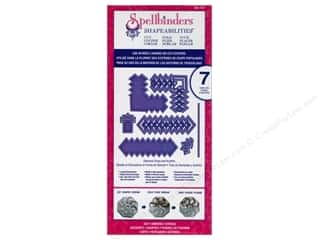 Metal Metal Strips: Spellbinders Shapeabilities Cut-Fold-Tuck Die Diamond Strips and Accents
