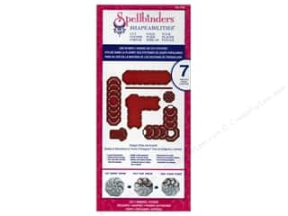 Spellbinders Shape Templates: Spellbinders Shapeabilities Cut-Fold-Tuck Die Octagon Strips and Accents
