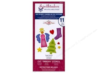 Spellbinders Christmas: Spellbinders Shapeabilities Die Sweet Folk Art
