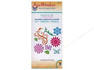 Spellbinders Shapeabilities Jewel Flowers and Flourishes