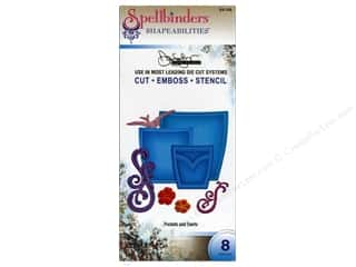 Clearance Spellbinders Presto Punch Template: Spellbinders Shapeabilities Die Pockets And Swirls
