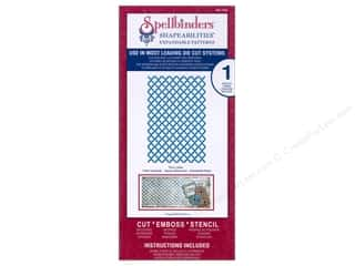 Spellbinders Shape Templates: Spellbinders Shapeabilities Expandable Patterns Die Fancy Lattice