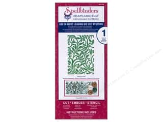 Spellbinders Shapeabilities Die Botanical Swirls