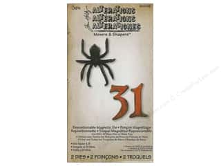 Sizzix Movers & Shapers Magnetic Die Set 2PK Mini Spider & 31