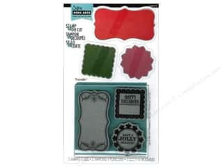 Christmas Sizzix Die: Sizzix Framelits Die Set 3PK with Stamps Tags by Hero Arts