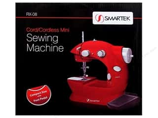 Sewing Machines: Smartek Sewing Machine Mini Cordless Red