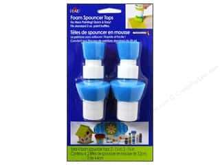 Bottle Tips / Bottle Tops: Plaid Paint Essentials Spouncer Painter Tops 4pc