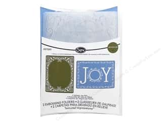 Sizzix Emboss Folder JLong  Holiday Joy