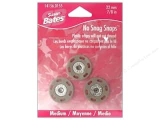 Bates No Snag Snaps Medium 7/8&quot; Dogwood