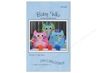 Susie C Shore Designs $2 - $5: Susie C Shore Baby Who Pattern