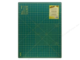 "Rotary Cutting Green: Olfa Cutting Mat 18""x24"" Green with Grid 1.5 mm"