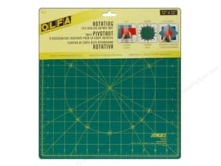 "Quilting Cutting Mats: Olfa Spinning Rotary Mat 12"" Square"
