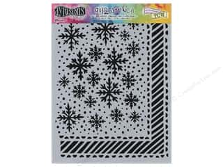 "Ranger Dylusions Stencil 9""x 12"" Let It Snow"