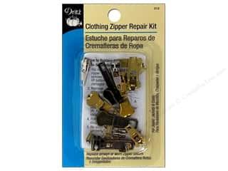 Sewing Construction Zippers: Zipper Repair Kit by Dritz Clothing